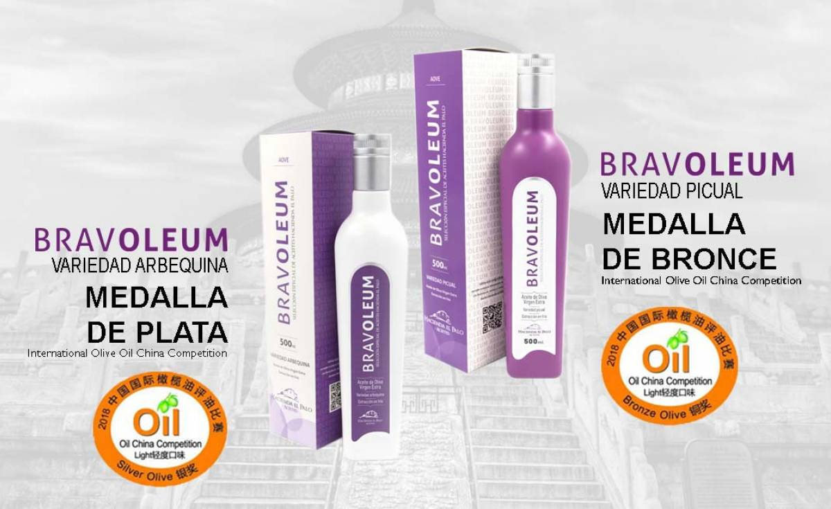 Bravoleum en la International Olive Oil en China